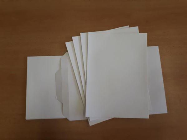 Obrázek z Plátno - archy 25 x 35 cm, polyester 20ks